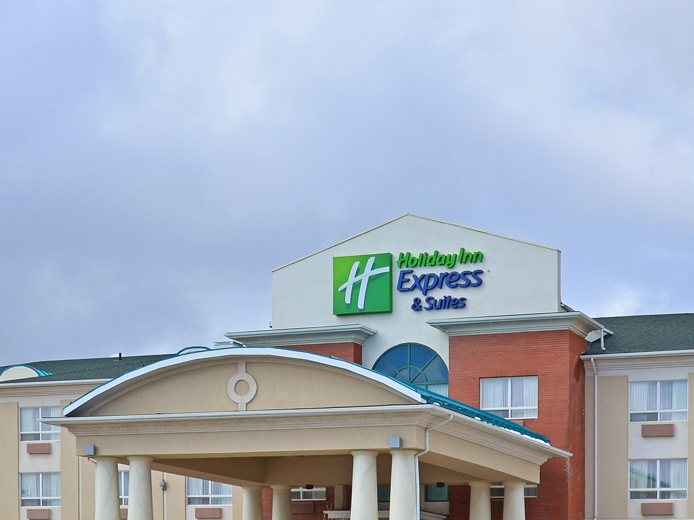 Come on in!  The Holiday Inn Express & Suites is ready for you!