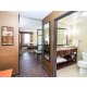 King Bed Guest Room & Bathroom
