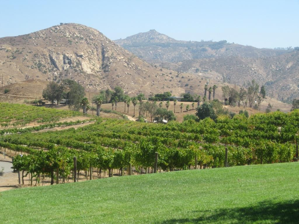 6 miles away to Orfila Vineyards and Winery