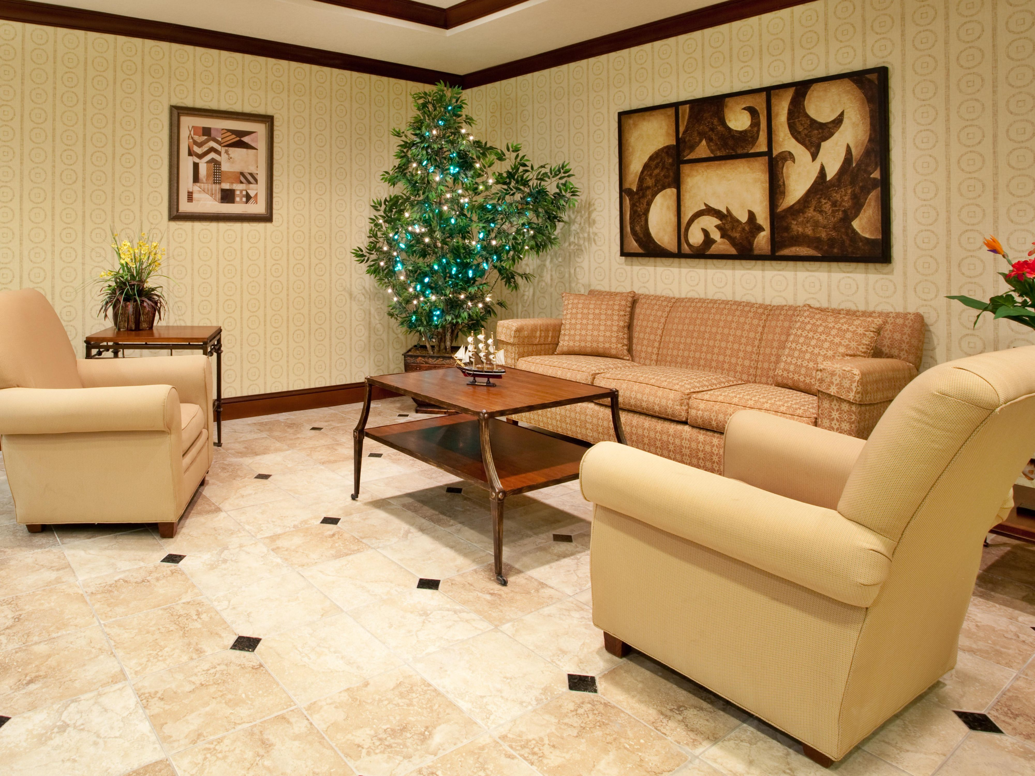 Read a newspaper in our lobby on comfortable sofa`s and relax.