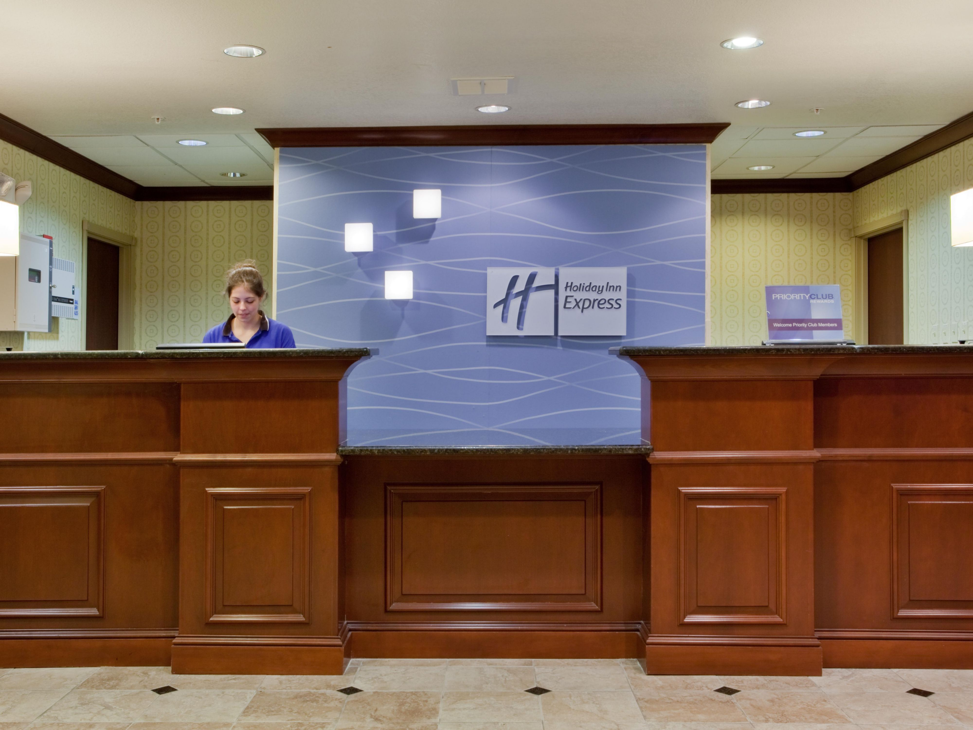 Speak to our friendly Front Desk Staff`s