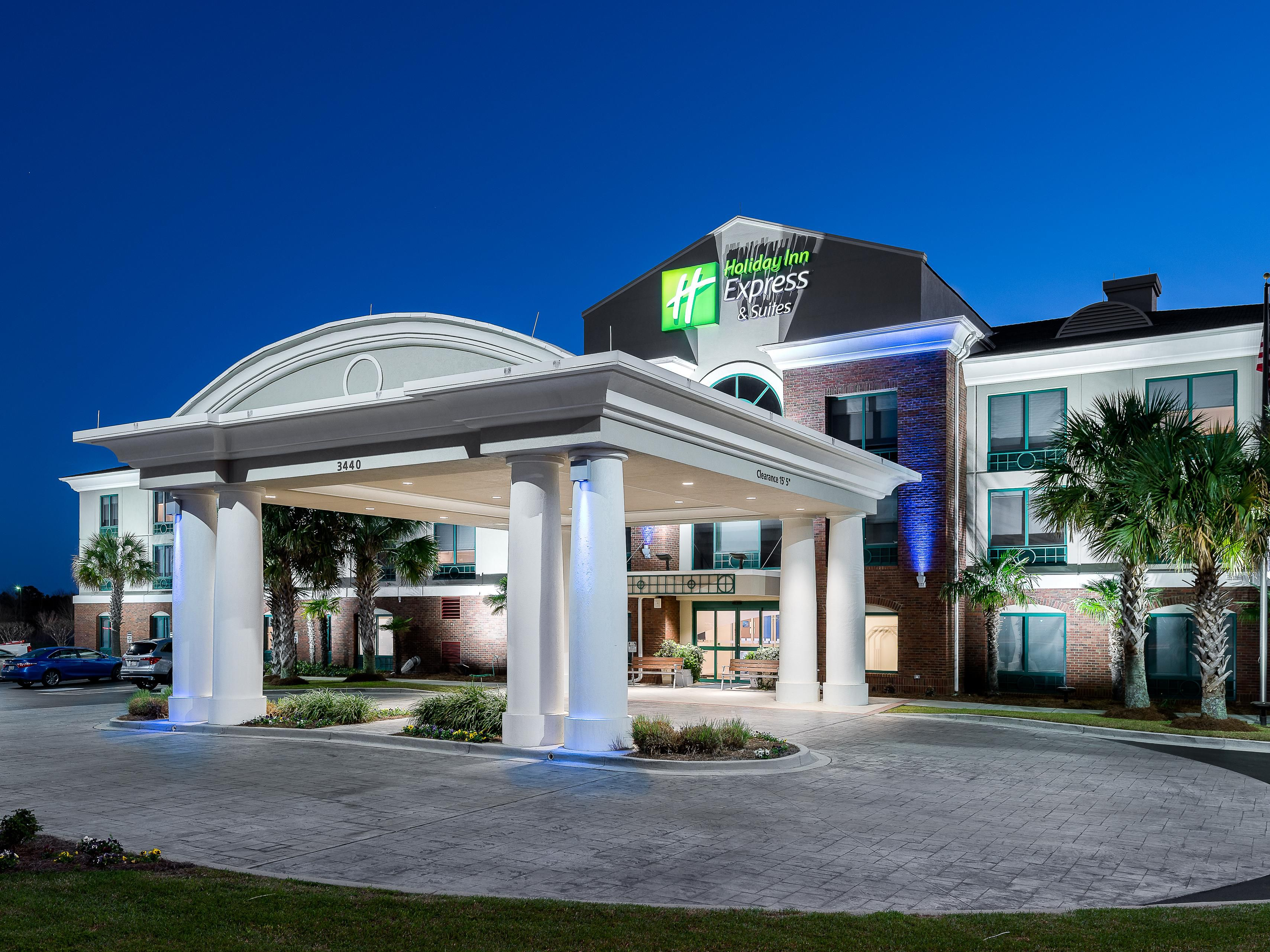 Holiday Inn Express Suites Florence I 95 20 Civic Ctr Hotel By Ihg