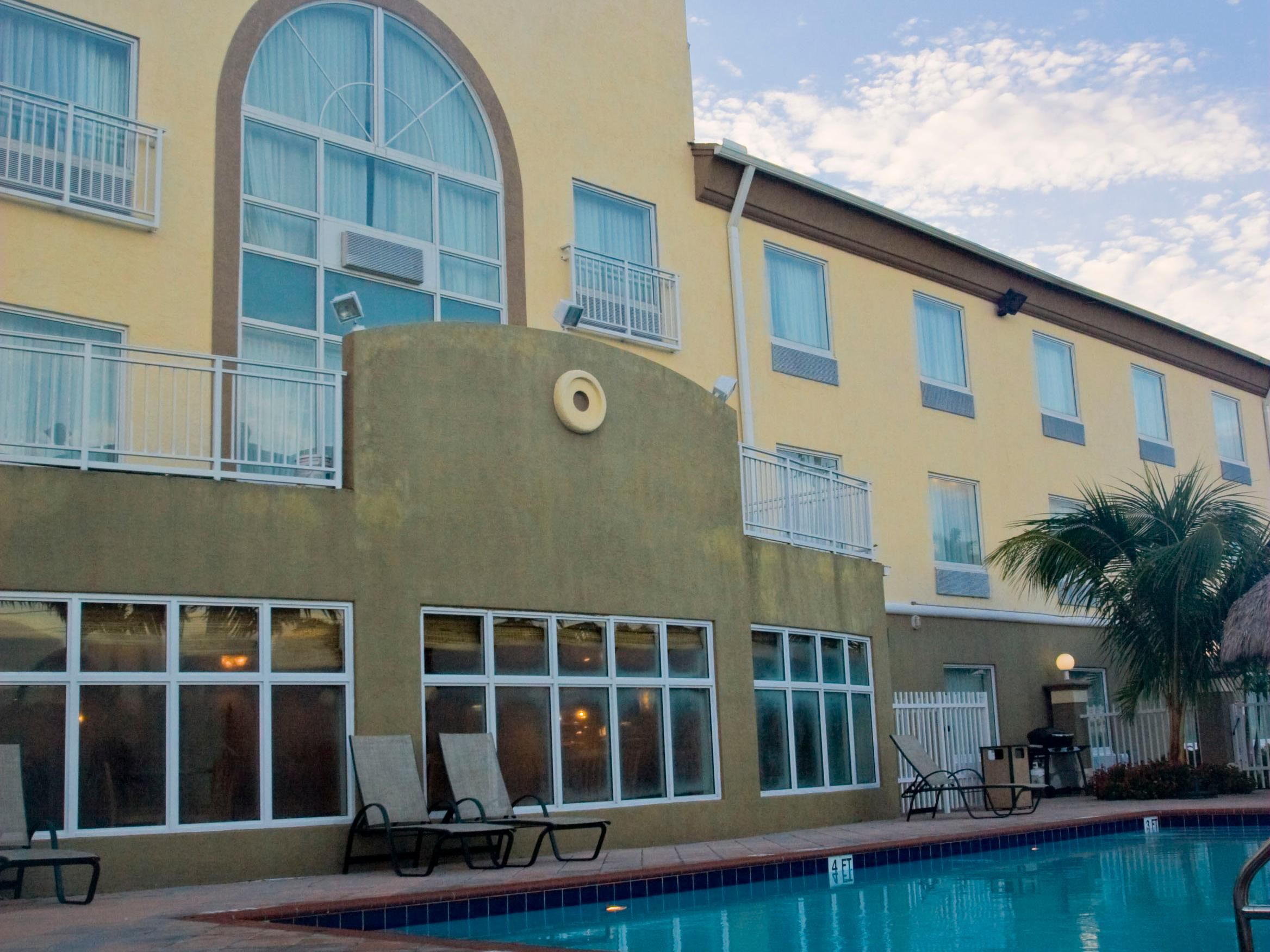 Our pool is perfect for rest or play.