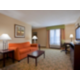 King Suite at the Holiday Inn Express Franklin Ohio