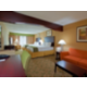 Two Queen Suite at the Holiday Inn Express Franklin Ohio
