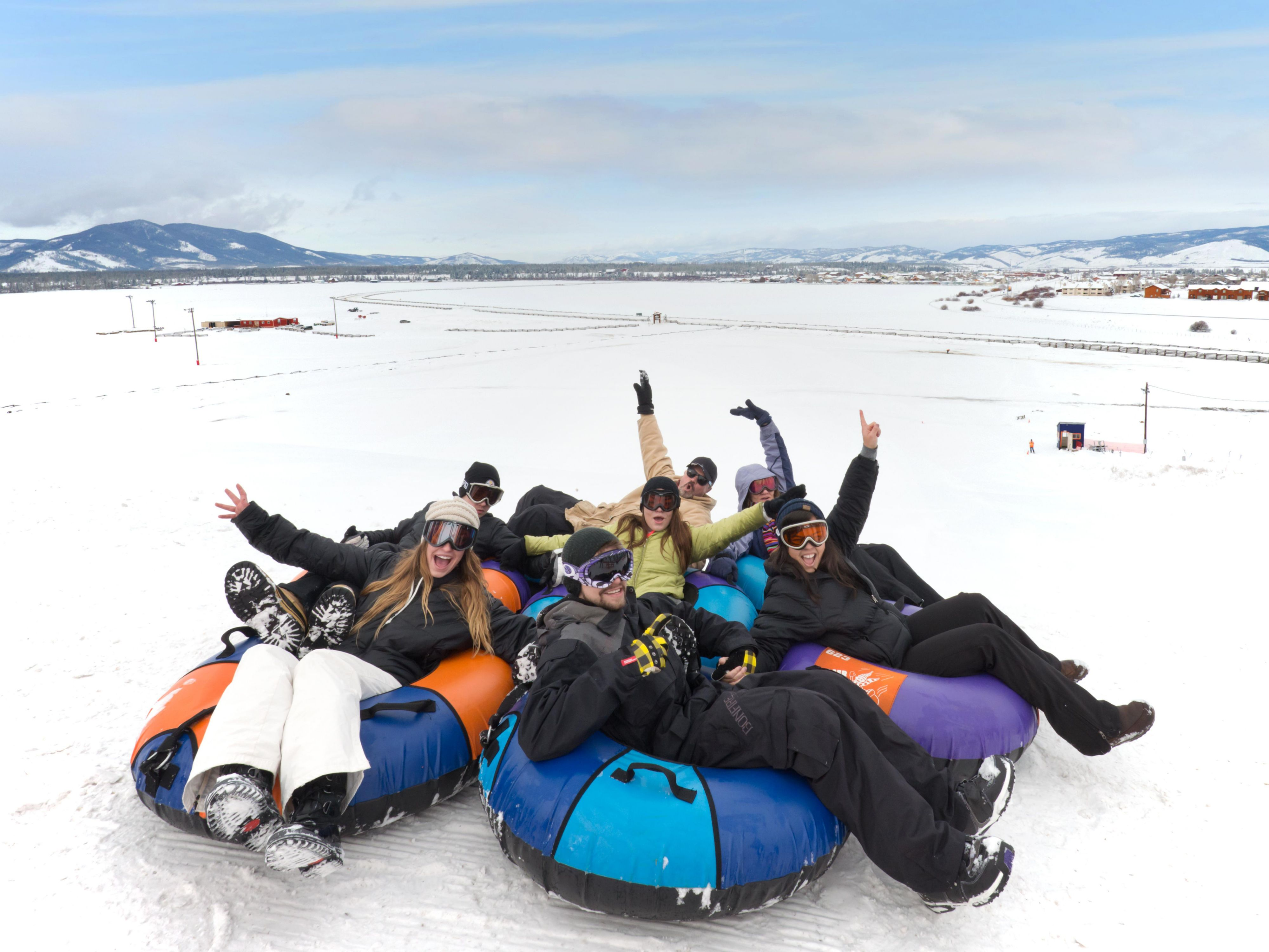 Don't leave without checking out one of Fraser's tubing hills!
