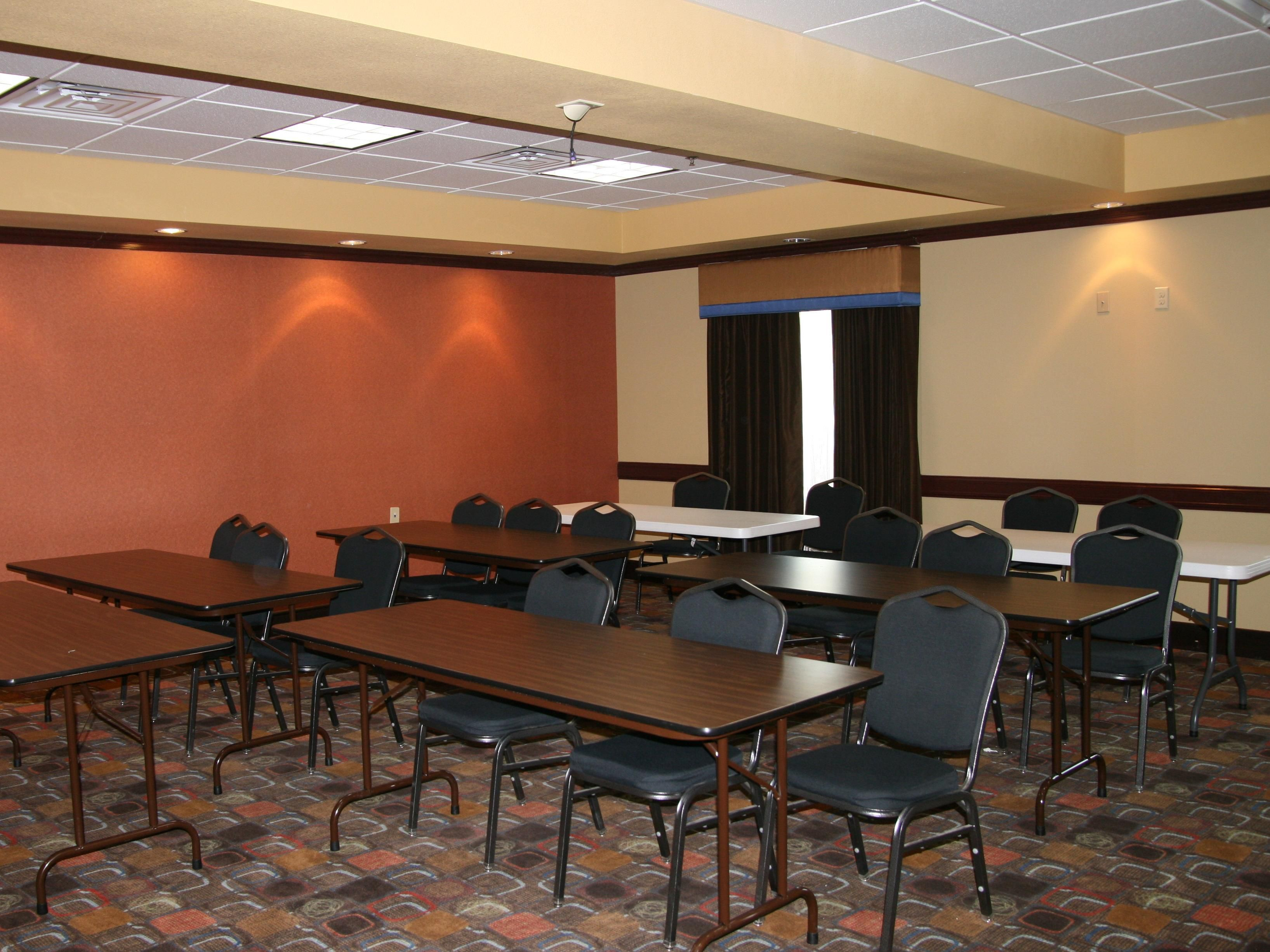 Meeting Room at the Holiday Inn Express George West