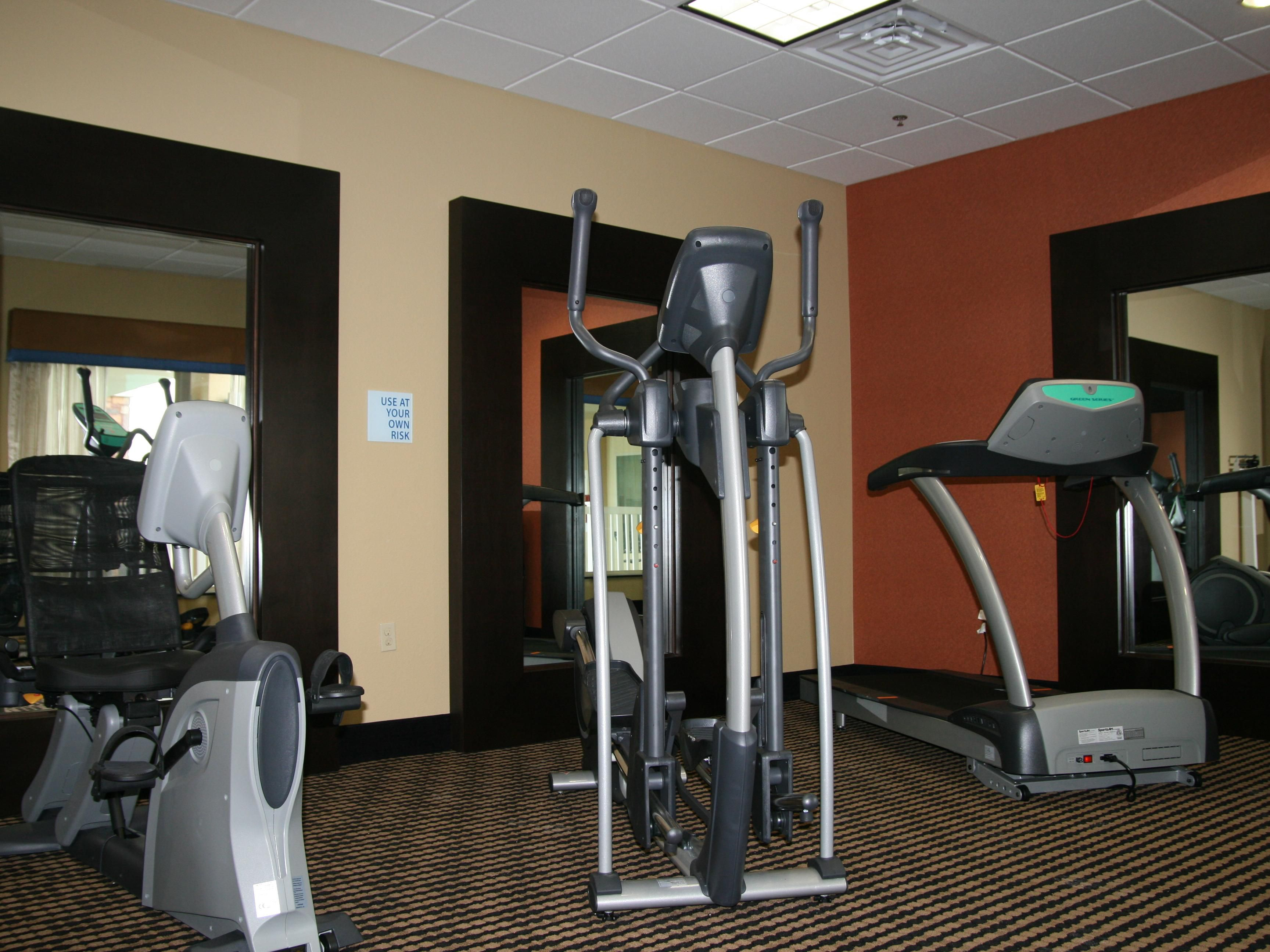 Fitness Center at the Holiday Inn Express George West