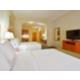 Goshen, IN two queen bed suite with sofa sleeper.