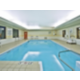 Our Goshen hotel heated indoor swimming pool is very relaxing.