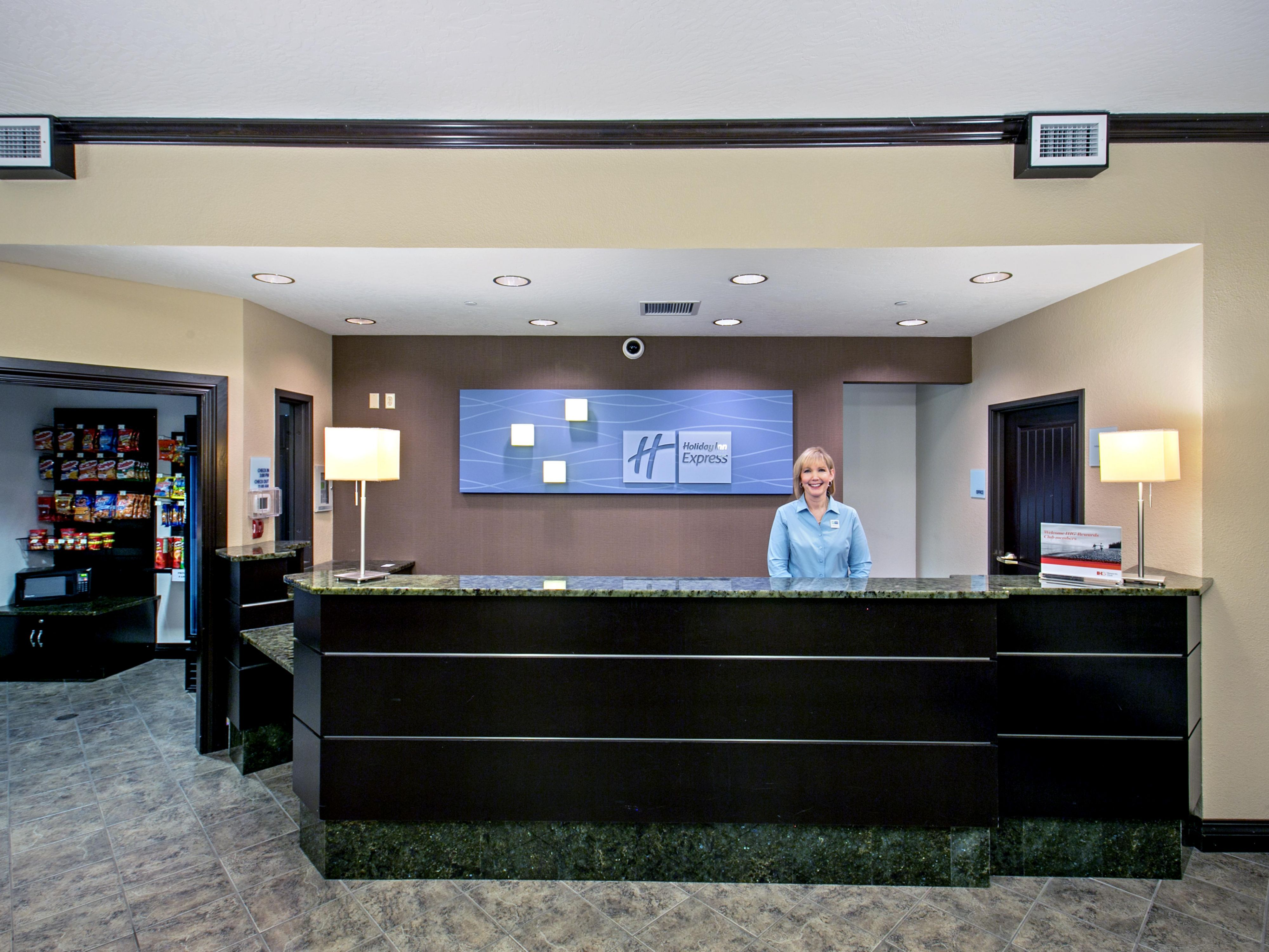 Our front desk team is always at your service