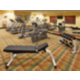 Our fitness center is well-equipped for your needs