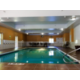 Our heated, indoor Swimming Pool