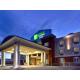 Holiday Inn Express & Suites Hinton Night Majestic Skyline
