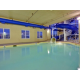 Heated Pool with enclosed Waterslide
