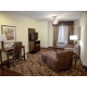 Spacious Two Room Suite offering comfortable seating