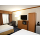 Large guestrooms with added amenities