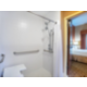 Our Accessible room is well-equipped with roll in shower/seat