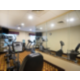 Stay fit! 24 Hour Fitness Center with treadmills and ellipticals