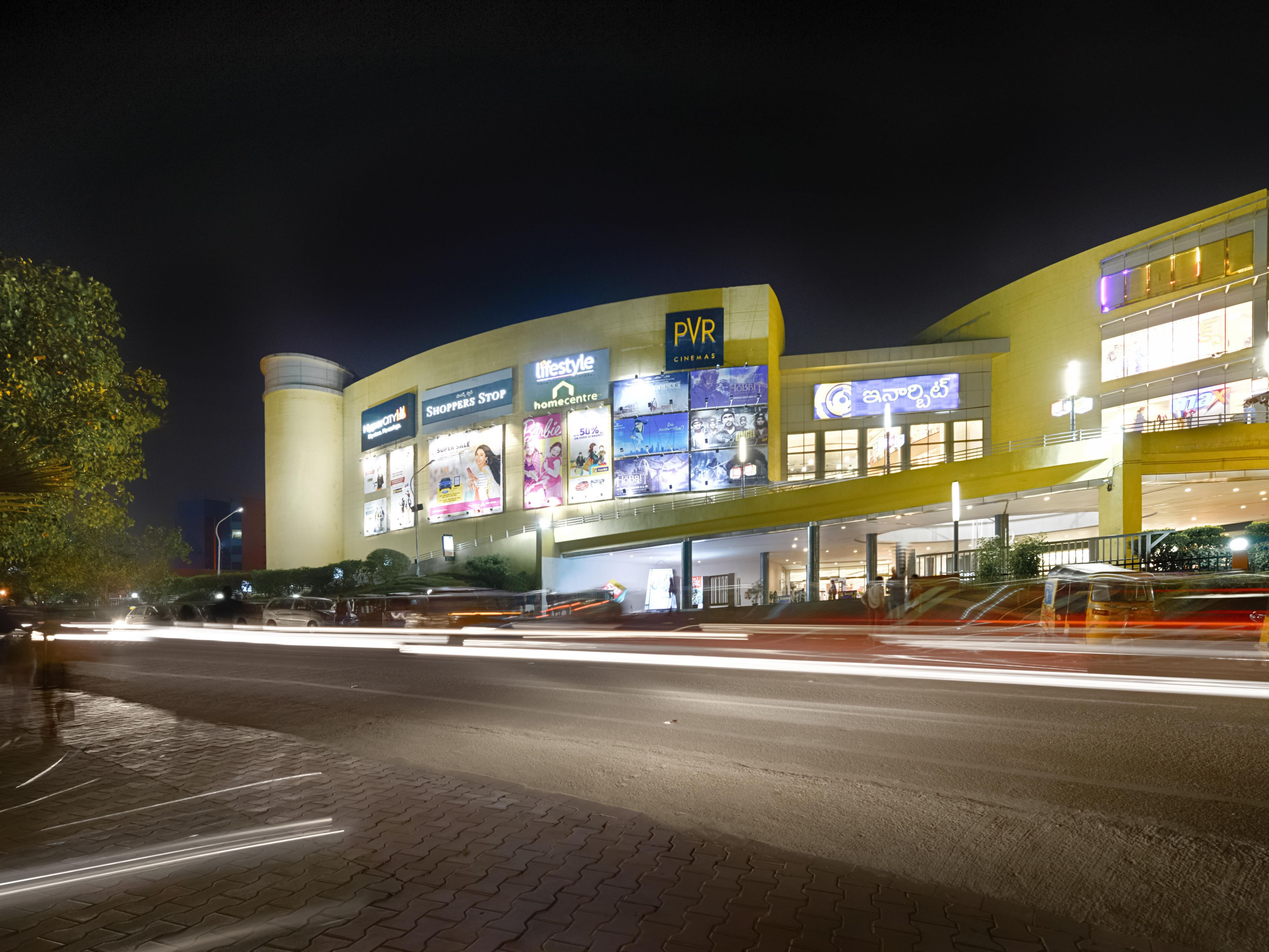 Area Attraction - Inorbit Shopping Mall, HiTech City