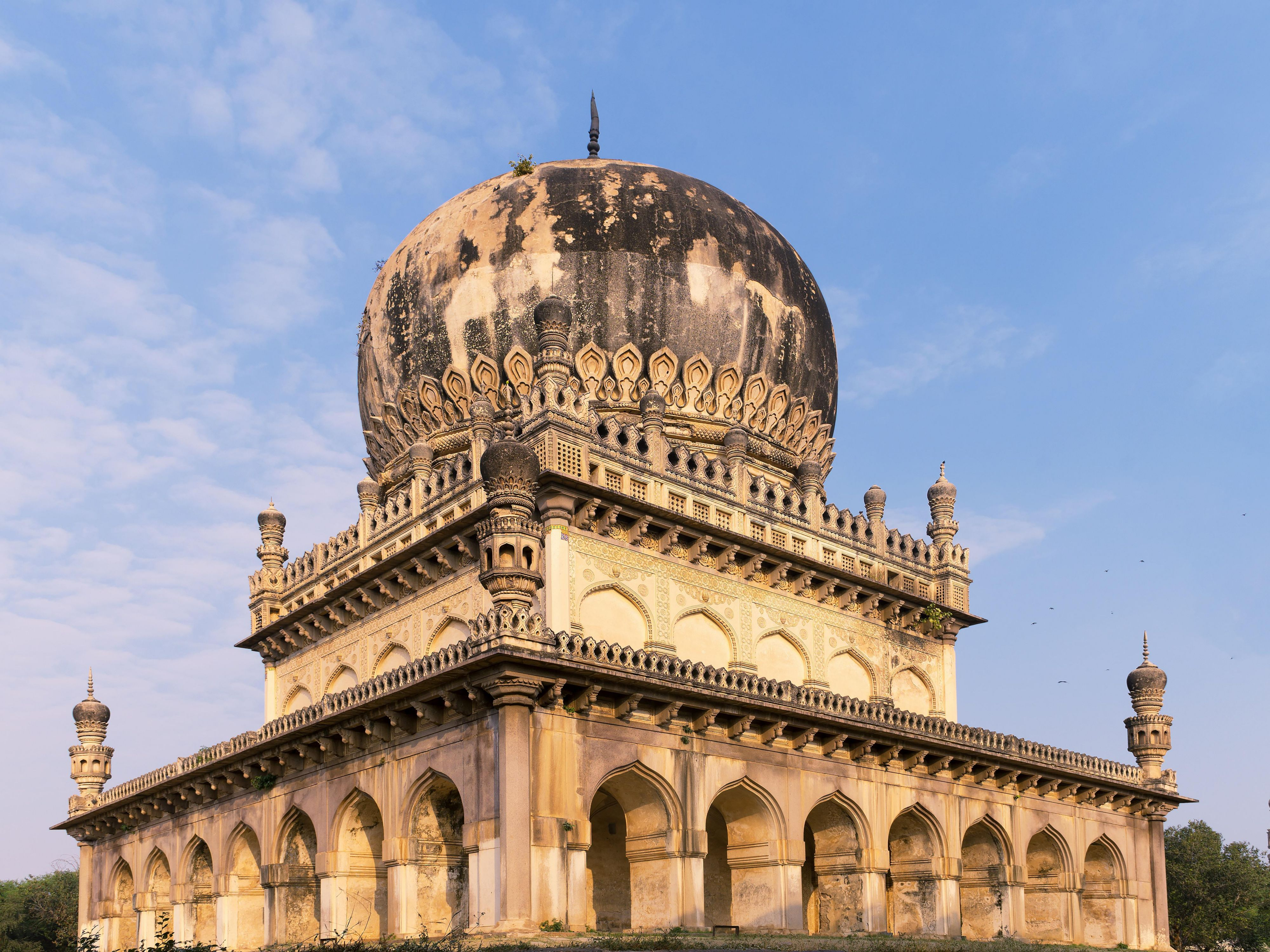 Area Attraction - Qutb Shahi Tombs