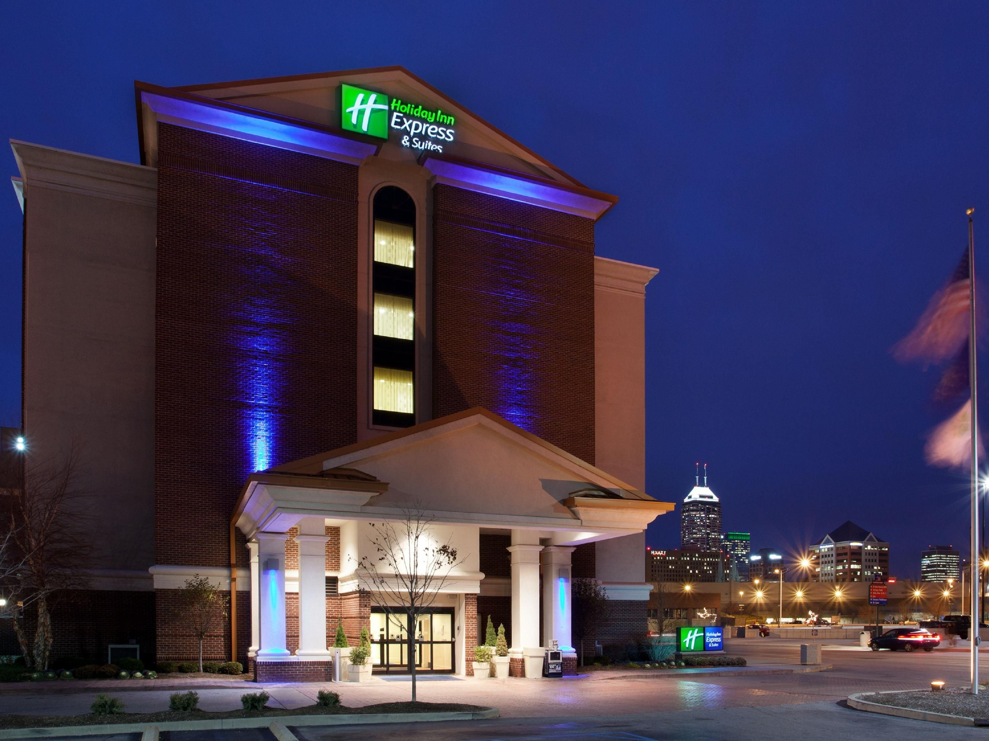 Holiday Inn Express Suites Indianapolis Dtn Conv Ctr Area Hotel By Ihg