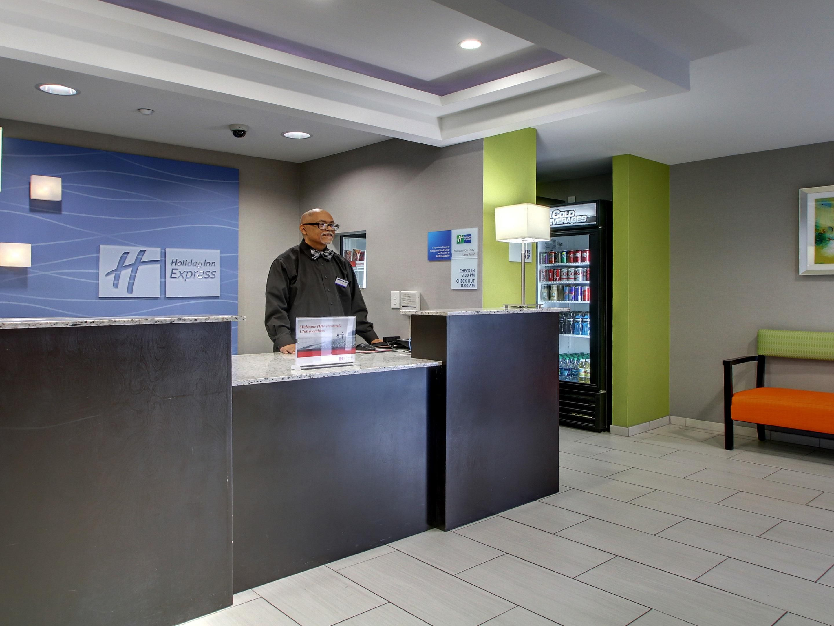 Welcome to the Holiday Inn Express and Suites Downtown Jackson, MS