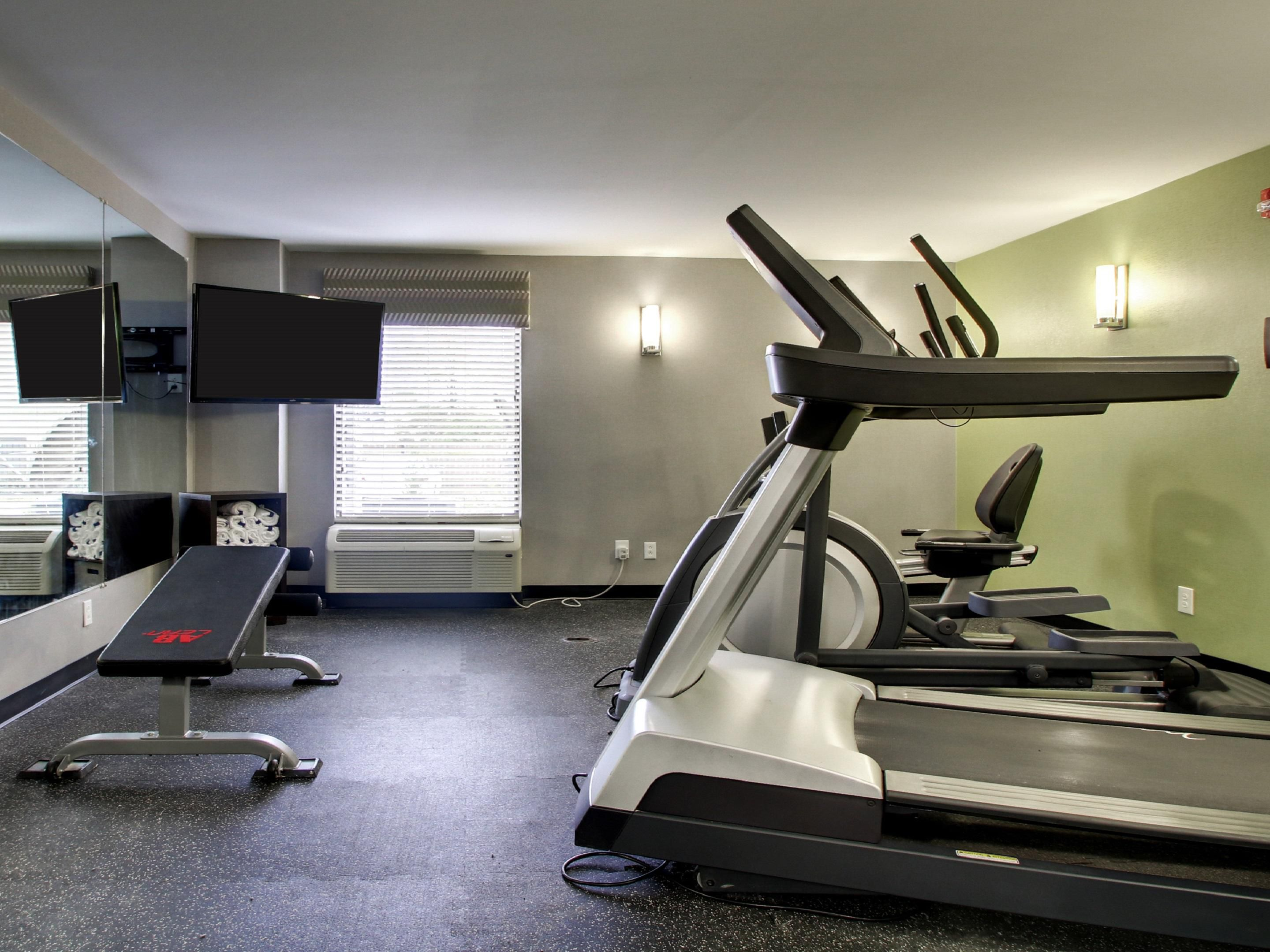 On Site Fitness room