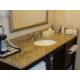 Guest Bathroom Italian Marble Vanity