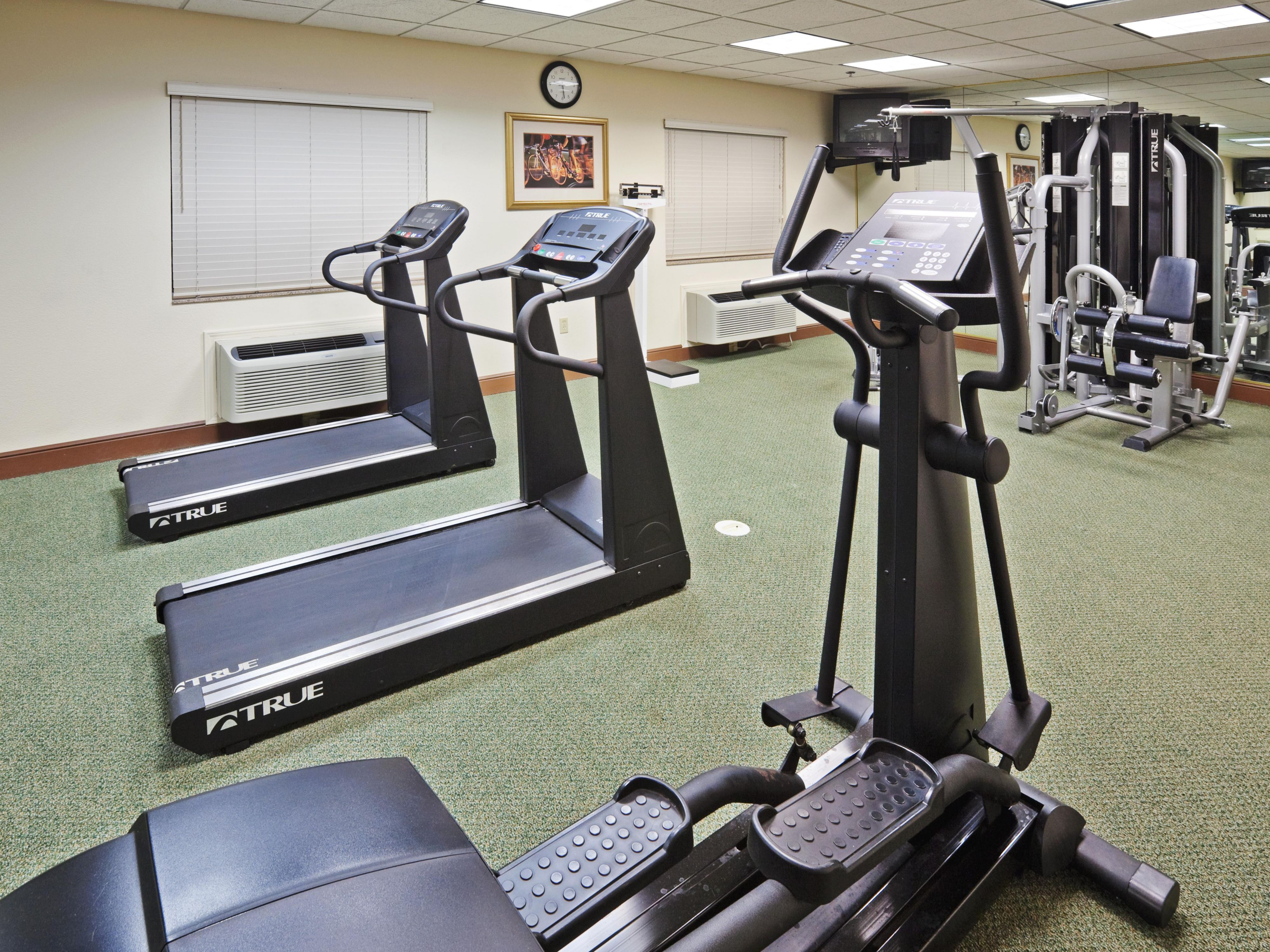 Work out in our fully equipped Fitness Center!