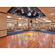 Our Ballroom features a dance floor with lighting!