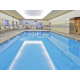Indulge in our indoor pool, hot tub and steam sauna!