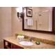 Our Holiday Inn Express has beautifully appointed guest bathrooms.
