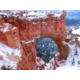 Beautiful Bryce Canyon arch in the winter