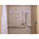 ADA/Handicapped acessible Guest Bathroom with roll-in shower