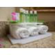 Amenities in guest bathroom