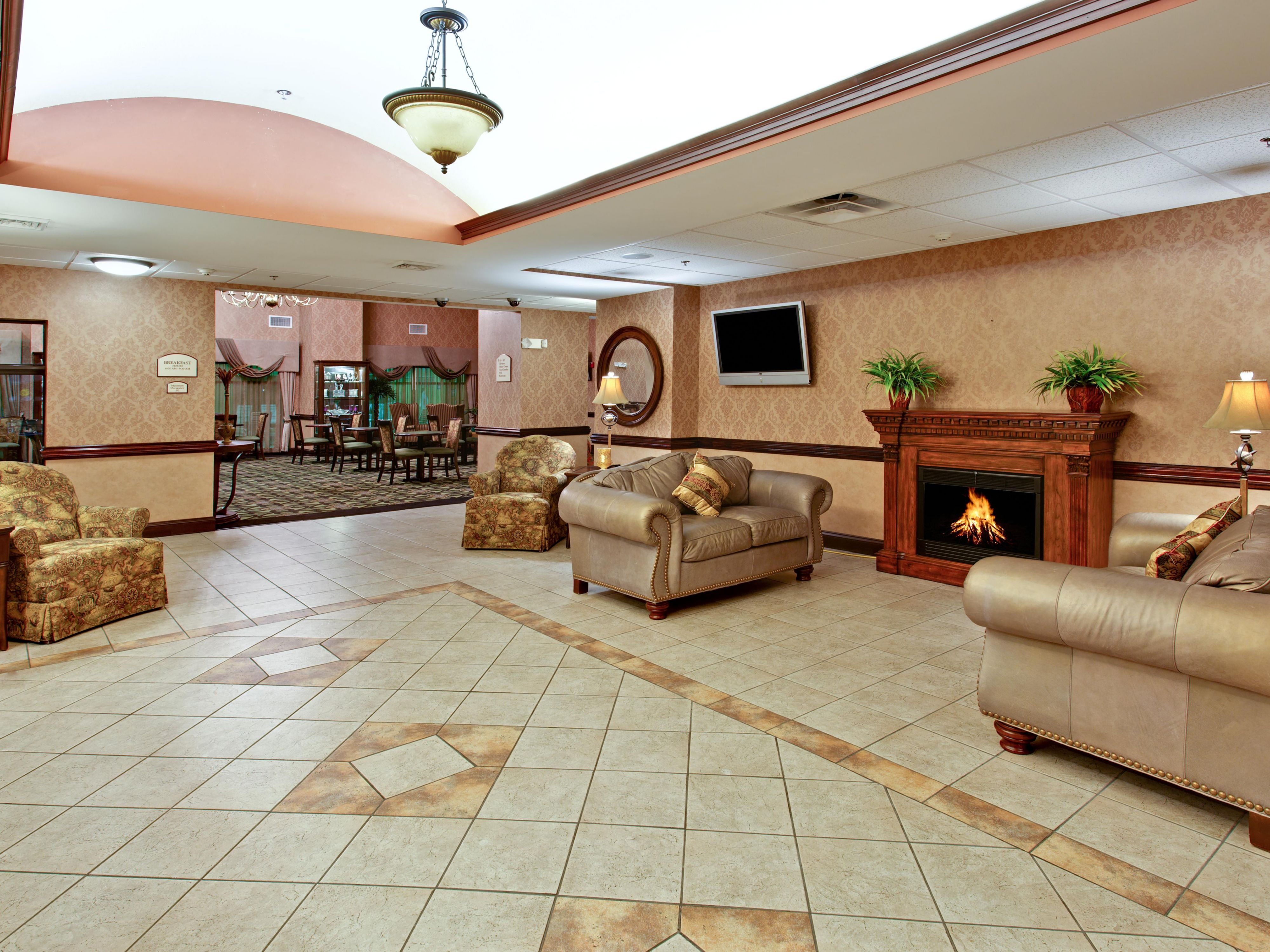 Hotel Lobby/Reception Area