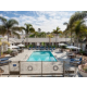 Sunbathe pool-side at Holiday Inn Express & Suites La Jolla