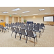 Our meeting room can accommodate up to 50 attendees comfortably