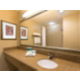 Our guest bathroom with extra amenities from Bath and Body.