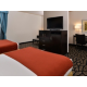 Tacoma South Lakewood Hotel Two Queen Feature Guest Room