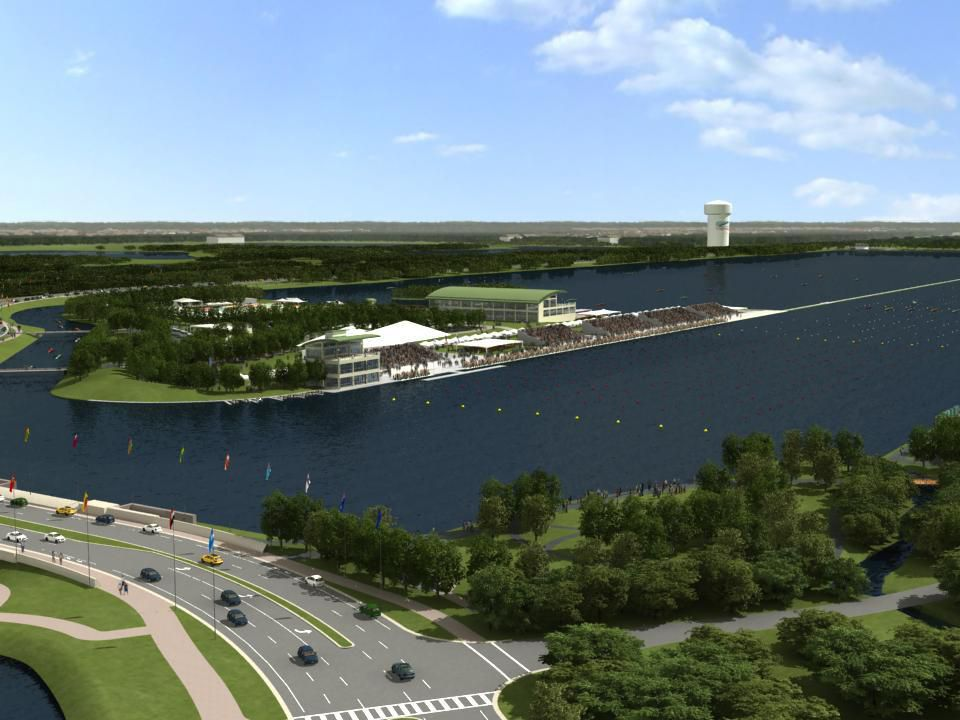 Nathan Benderson Park is a unique 600 acre recreational park