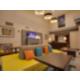 Vibrant Lobby Lounge Area