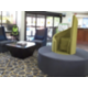 Relax in our new lobby lounge - Holiday Inn Express Lawrenceville,