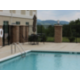 Swimming pool with a view of the Blue Ridge Mountains