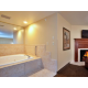 Hot tub  Suite w/Fireplace