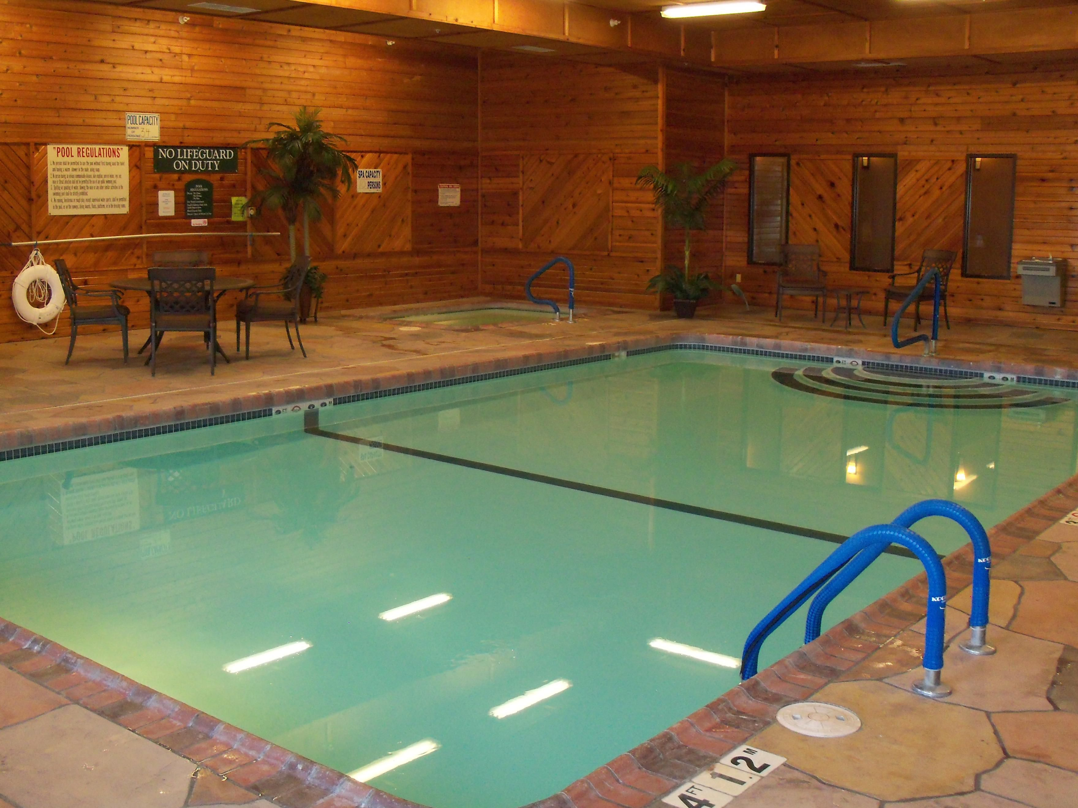 Relax and Swim at the Holiday Inn Express Lexington Nebraska