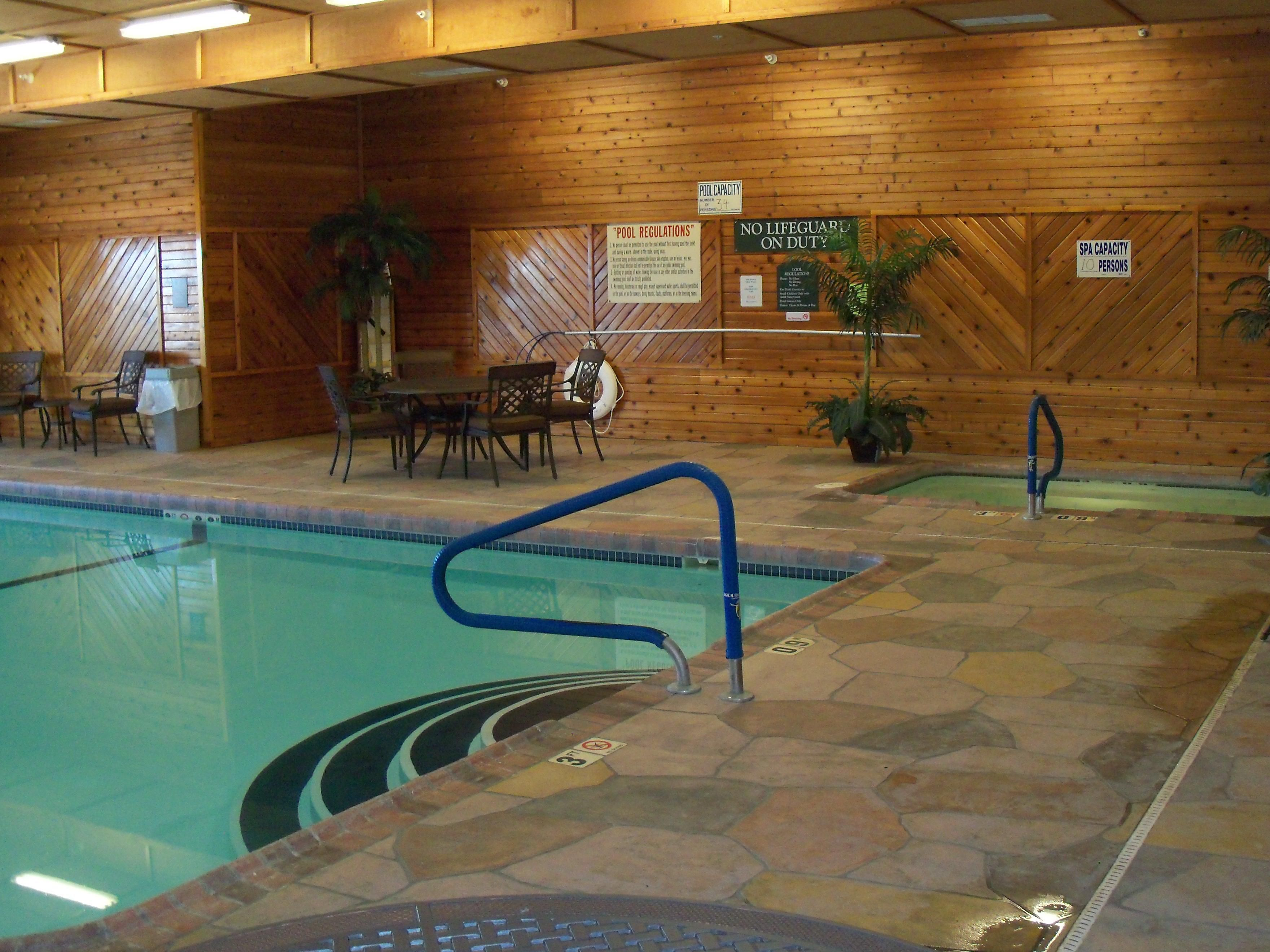 Indoor Pool & Whirlpool at Holiday Inn Express Lexington Nebraska