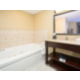 Executive suite tub with jets