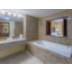 Childress Suite bathroom with whirlpool tub